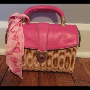Juicy couture basket bag